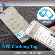 Anti Theft RFID security label tag for clothes