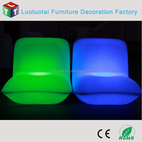 LED light bar furniture for party summer camp beach party