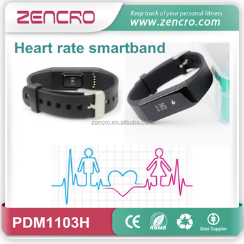 Zencro smartband wearable fitness activity tracker wrist bracelet sleep heart rate monitoring compatible with android and IOS