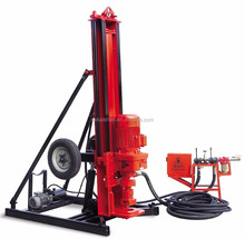 DTH rock drill with drilling rig tools