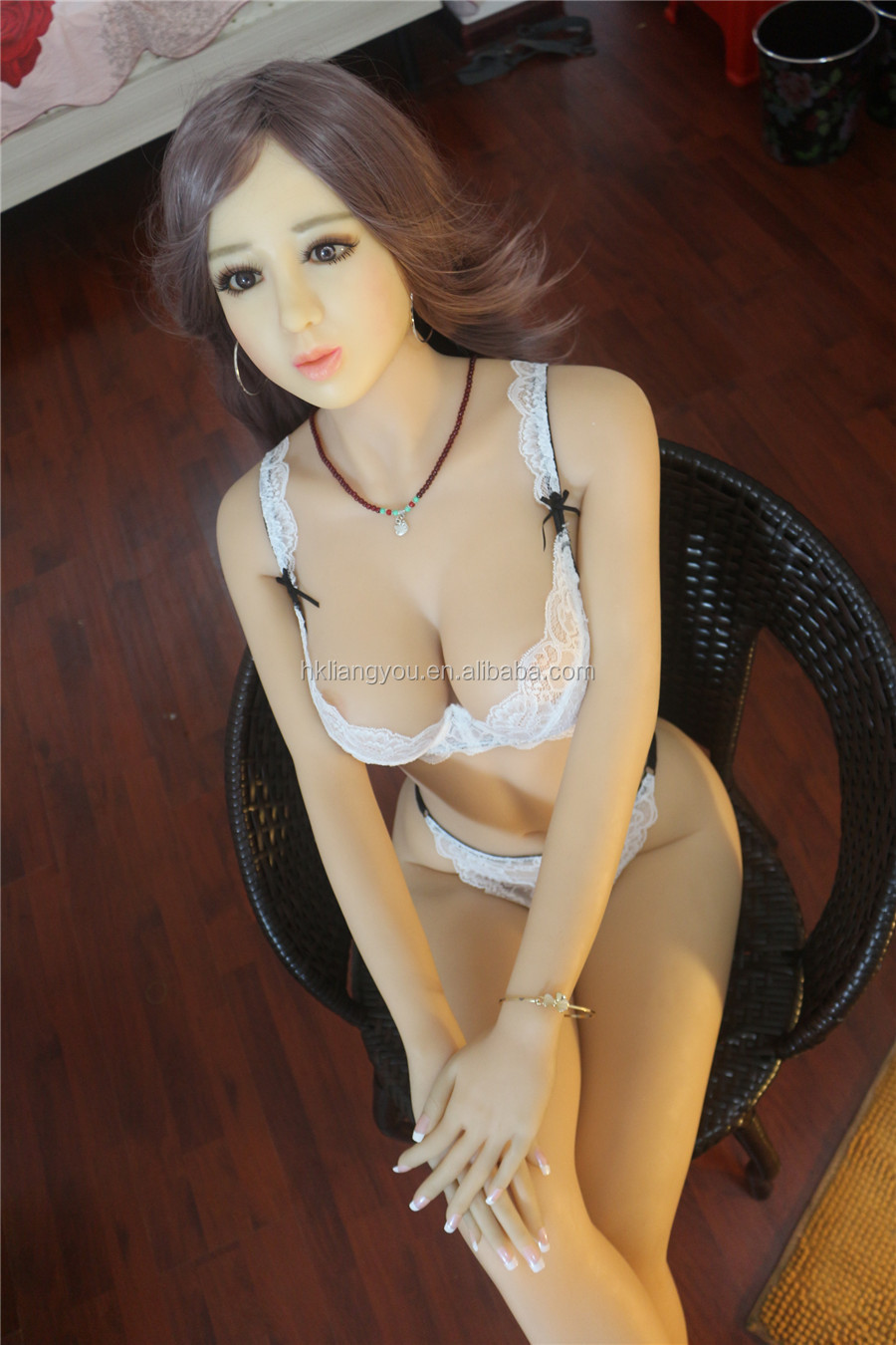 158cm tall love doll with lingerie random metal skeleton silicone dolls for sale