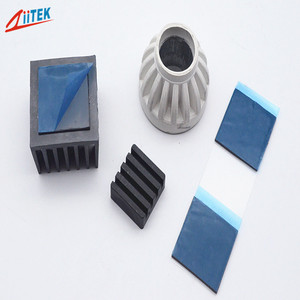 1.5w cooling thermal pad 1.25mm 20*40mm 50*50mm