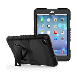 Heavy Duty Three Layer Armor Defender Protective Cover With Kickstand Pc 7.9 Inch Tablet Silicone Case For iPad Mini 3