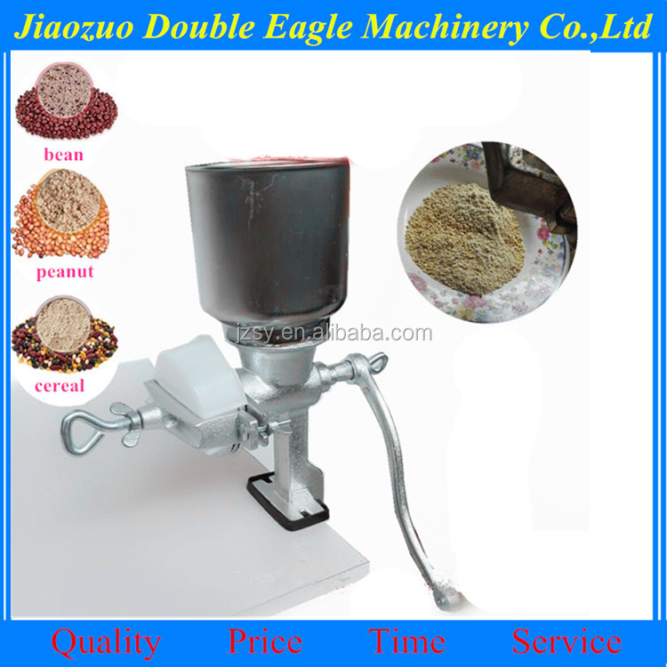 Household small manual grinding machine/soybean peanut butter portable grinding machine
