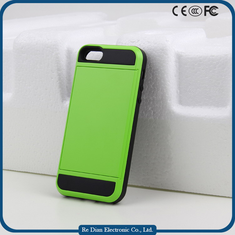 Muilt colors mobile phone accessories cell phone plastic cover case for iphone 5/5S/SE