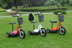 Three wheel electric scooter CE approval tricycles