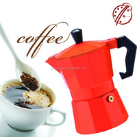 Ogniora most fashionable Aluminium Steam coffee maker/Percolating coffee maker 3-6cups