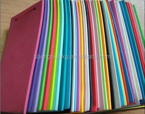 Cheap Eco-firendly color eva foam sheet 2mm 3mm 4mm 5mm 6mm 10mm A /B /C Garde material