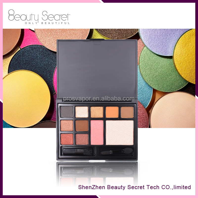 OEM makeup set with eyeshadow and blush palette makeup kit private lable