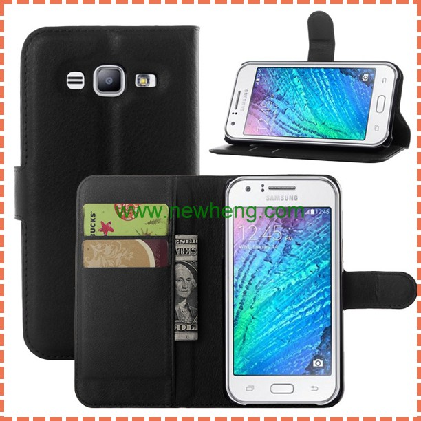 Book Style Stand Wallet Leather Flip Cover Case for Samsung galaxy J5 J7