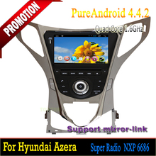 Android Car dvd with can-bus Quad Core 8 inch 2 din android car dvd player 2 years warrantyfor Hyundai Azera 2011 2012