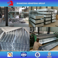 Galvanized Corrugated Steel Roofing Tiles