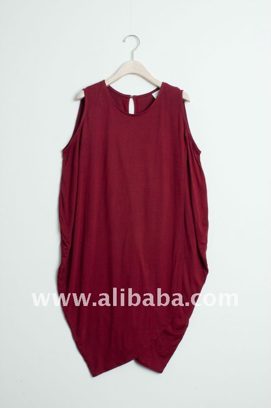 Drapery Cocoon Knit Womens Dress_FW Fall/Winter