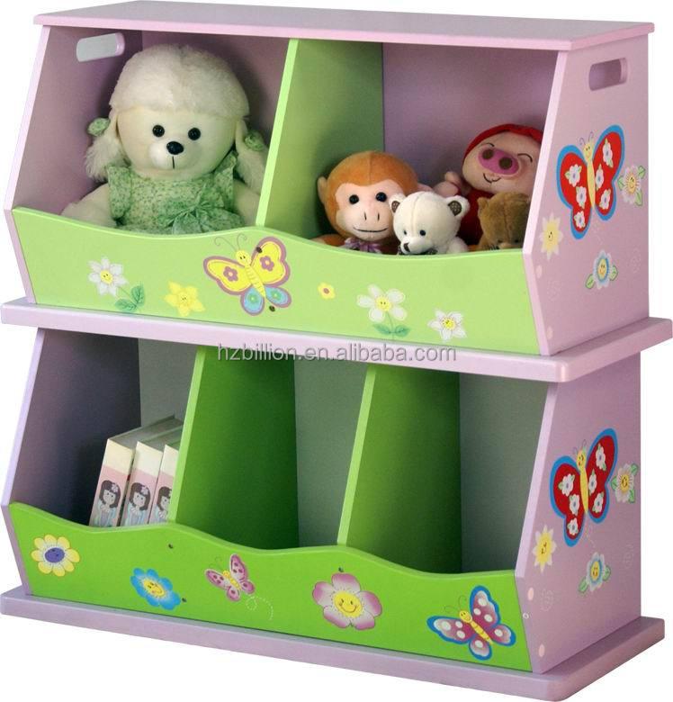 Children Wooden Storage Cabinet Kids Room Cabinet