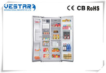 Luxury Side by Side stainless steel Refrigerator