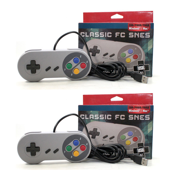 2017 Wired PC USB Game Controller For Nintendo SNES USB Model