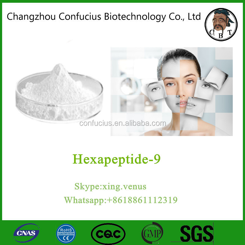 Factory Price Cosmetics Peptides from China Hexapeptide-9