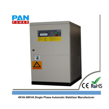 6KVA-50KVA Single Phase Automatic Stabilizer Manufacturer