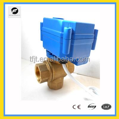 3-way electric valve actuator,motorized valve actuator,electric rotary actuator for Water treatment project
