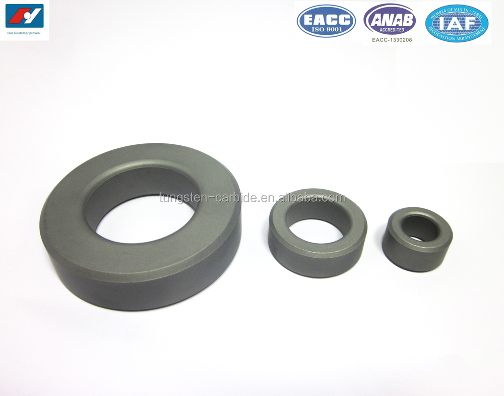 Factory supply tungsten carbide ball seat ring