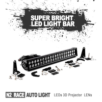 New Style Aftermarket Car Parts Wholesale 9-60V 50 inch 288W cheap led light bars for off roading 4x4 with free logo 36W 72W 120