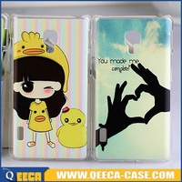 UV printing design hard case for lg optimus l7 ii dual p715 back cover