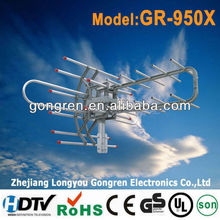 TV Remote Controlled Rotating antenna SNA-95T0TG outdoor TV antenna