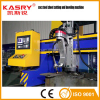 5 axis cnc plasma cutter machine with beveling for metal plate from kasry factory