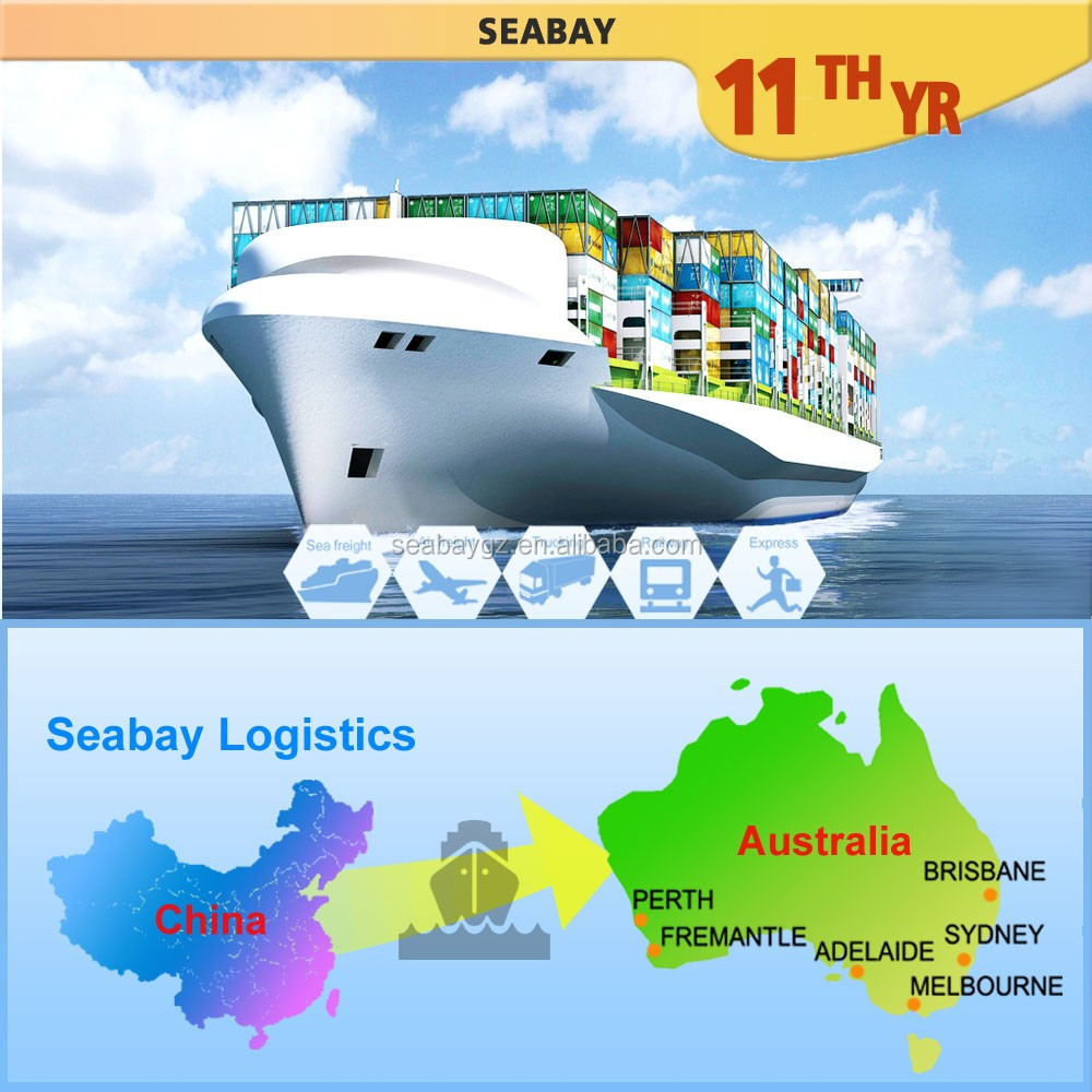 AUS01A Alibaba Cheap Sea Freight Forwarder,Container Shipping Cost From Guangzhou China To Australia