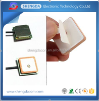 Ceramic GPS Antenna 1575mhz active passive Antenna 1575.42MHZ 25* 25* 4mm built in gps patch antenna