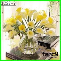 Colorful hot sale mini calla lily artificial flowers for home decoration