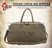 2013 Latest Waxed Cotton Canvas Travel Bags Duffle Bags