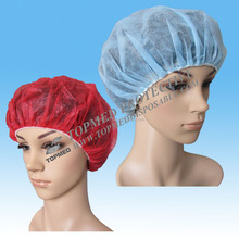 Hot! customized Disposable nurse clip cap ,cleaning room sister cap for industrial