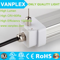 alibaba express 110LM/W ip65 led tri-proof light fixture high lumen t8 led tube light