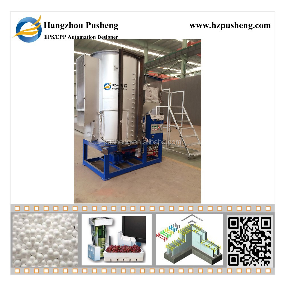 Hangzhou Pusheng continuous eps expanding machine High Quality styrofoam making machine PSY900 Details