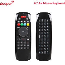 G7 2.4G 77 Keys Mini Wireless Air Mouse Keyboard With Infrared Learning Function