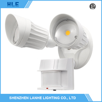 top quality aluminum alloy housing infrared sensor wall mounted led outdoor security lamp