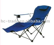 steel tube chaise lounge folding chair