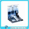 Cosmetic Countertop Display Stand Made of Acrylic Material Displaying All Types of Cosmetics