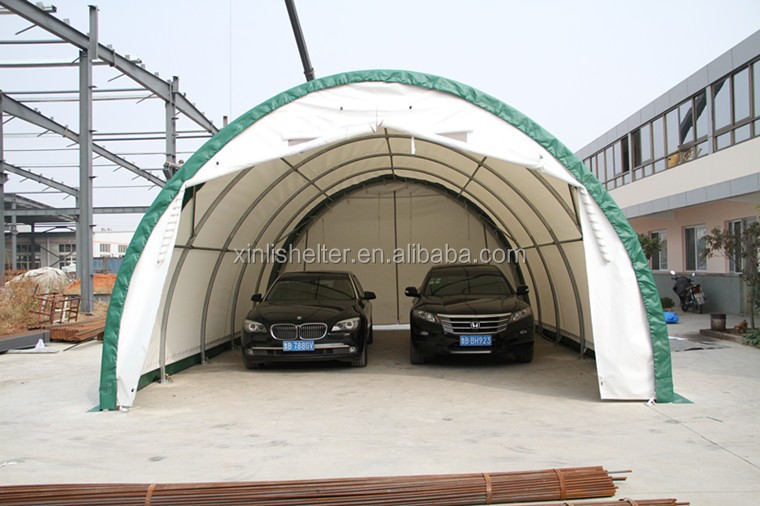 Portable Carport Two Car Garage /chinese Dome Portable ...