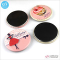 New arrival gift tin magnetic badge for promotion