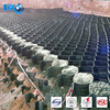 Protecting shape retaining wall plastic hdpe geocell 10cm height