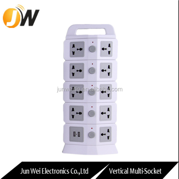 5 Layer Extension Socket Power Outlet with USB Multiple Socket Outlet