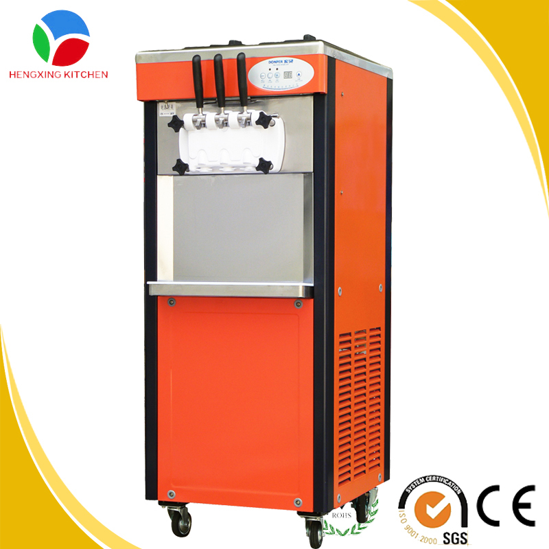 Used Soft Serve Ice Cream Vending Machine with Resonable Price
