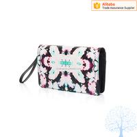 Factory direct supply women custom pattern clutch bag Korean fashion women purse