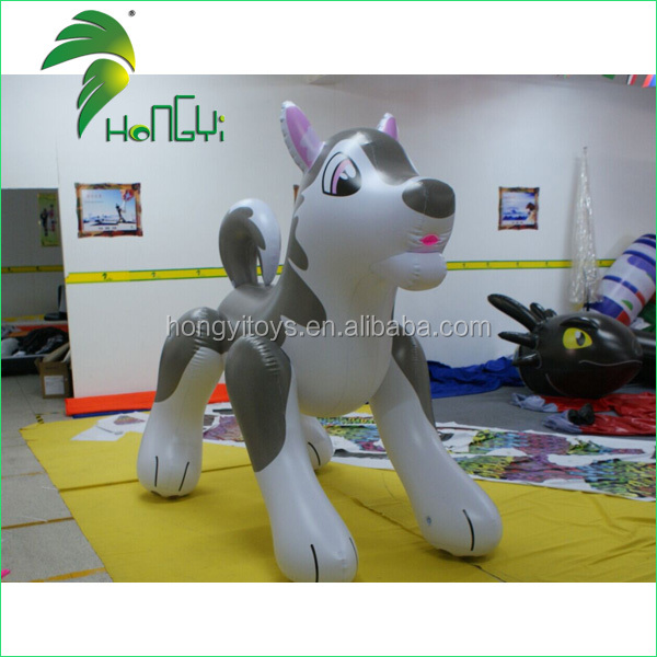Funny Gaint Air Inflatable Animals Sexy Wolf With SHP And With Best Quality UV Printing