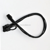 PCI-e Power Cable Mini 6pin to 6pin 8pin(6+2) PCI-e Video Card Power Cable
