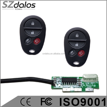 Hot sell door remote controller,copy code rf remote control DALOS RF Transmitter and Receiver remote control