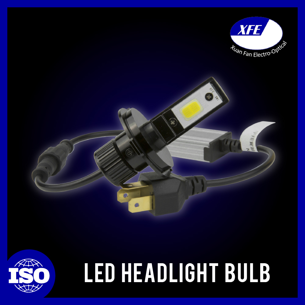 H4 Bright Cooling Technology Easy Installing Led Lighting Auto