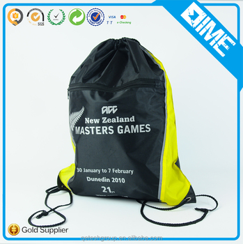 High Quality Promotional Cheap Shoe With Logo Drawstring Backpack